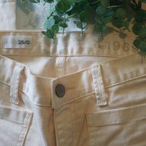 Apricot Peach Gap Jeans